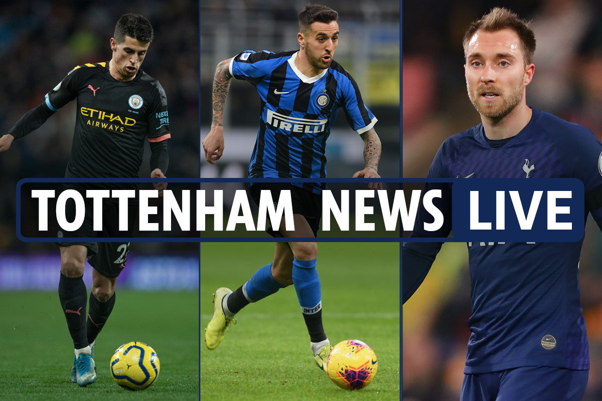 "13:00 News on the transfer of Tottenham LIVE: Cancelo contacted by Mourinho, exchange Vecino-Eriksen, Eur of Kane ""to lose"" - The Sun"