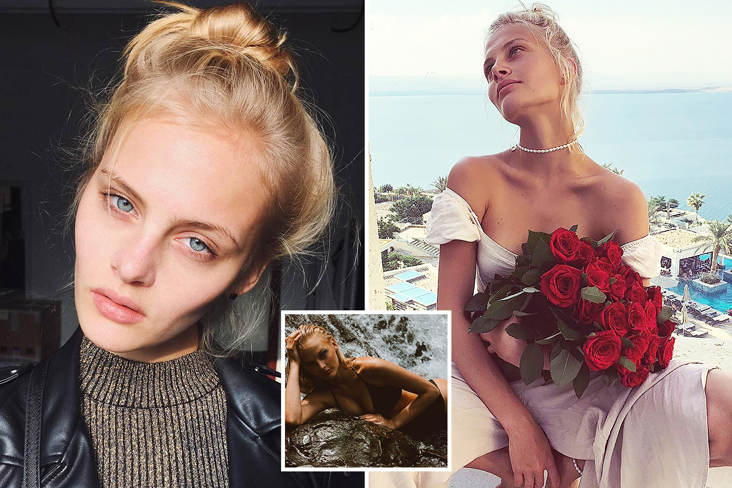 The Vogue model left the fight for life after falling almost naked from the third floor window at temperatures of -5 ° C - The Sun