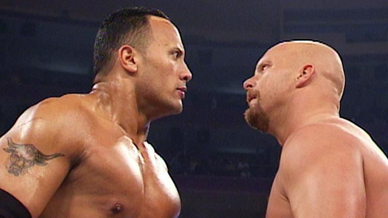 The Rock and Stone Cold Steve Austin were the two stars who inspired Kurt Angle to get into the wrestling business