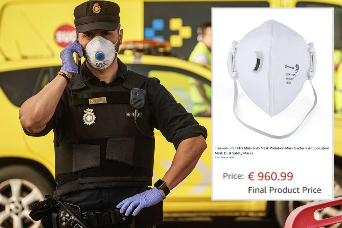 Coronavirus facemask prices rocket in Tenerife as doctors slam ...