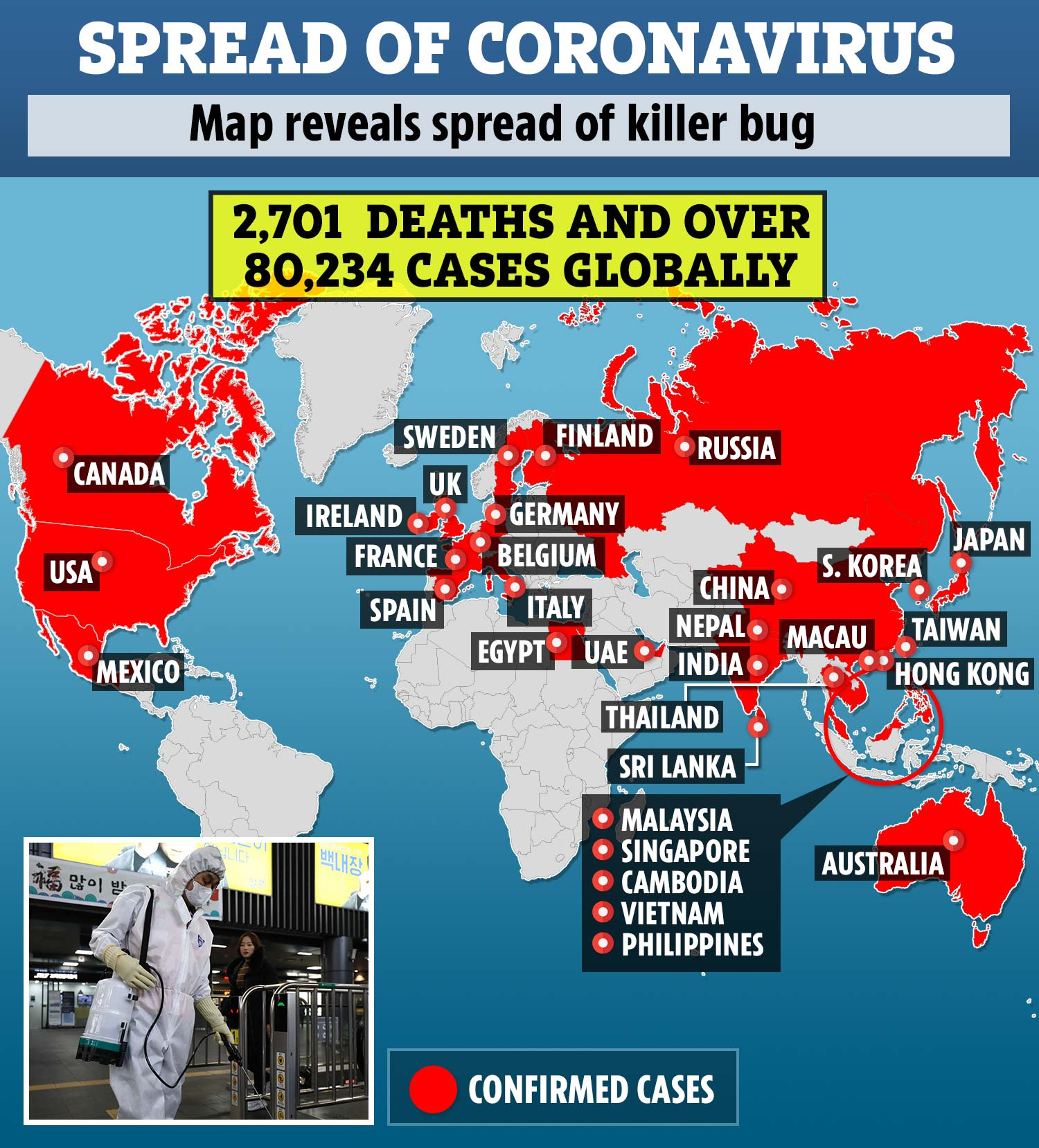 Coronavirus clusters could explode all over Europe like in Italy ...