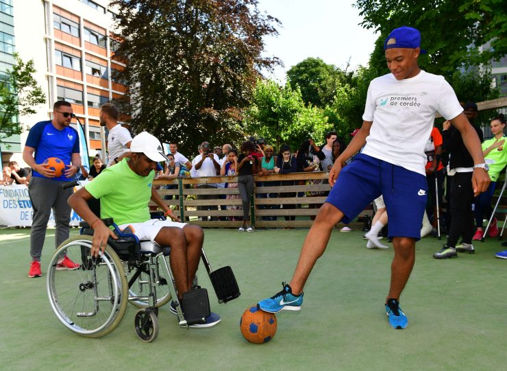 Charitable Mbappe is one of footballs good guys
