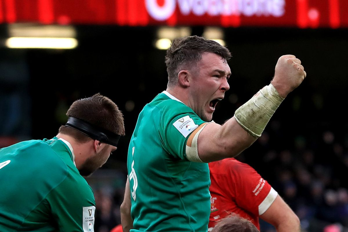 O'Mahony starts for Grand Slam-chasing Irish in unchanged team to face England