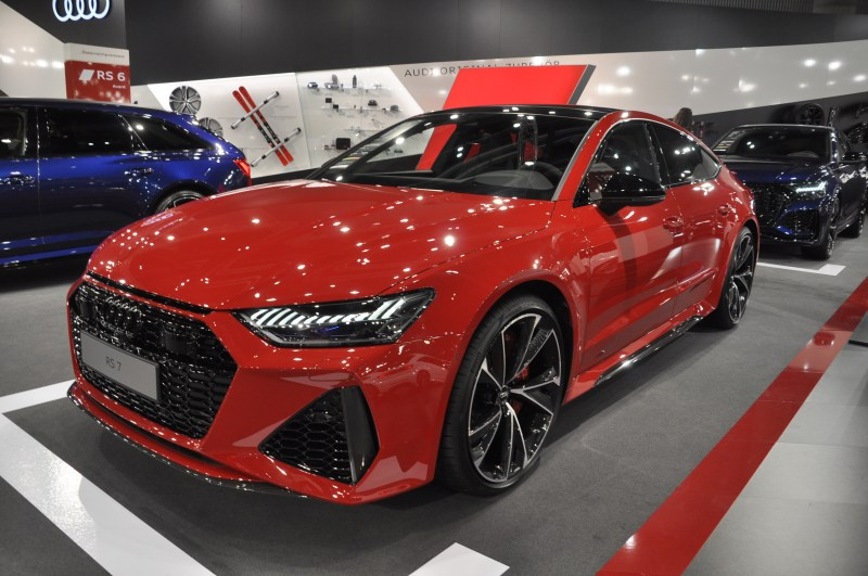 The RS7 has six individual driving profile modes for everything from integral steering to the Quattro sport differential