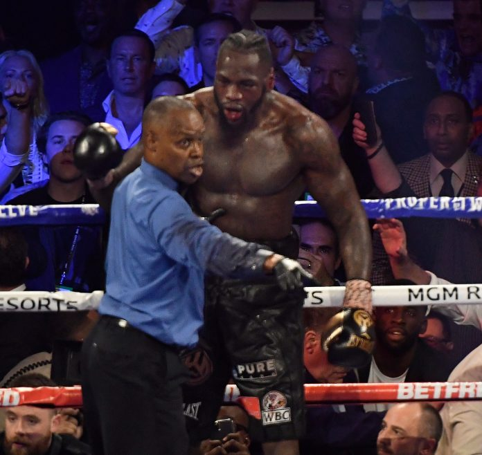 Deontay Wilder says he was 'willing to die in the ring' during his loss to Tyson Fury