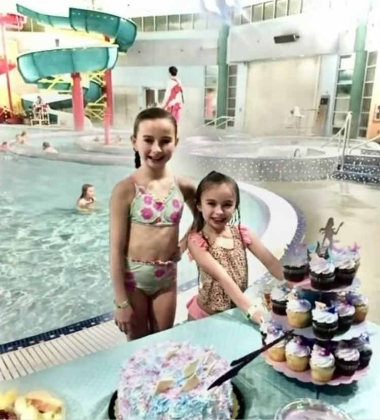 Holly's daughter had specially-made unicorn cupcakes for her 8th birthday