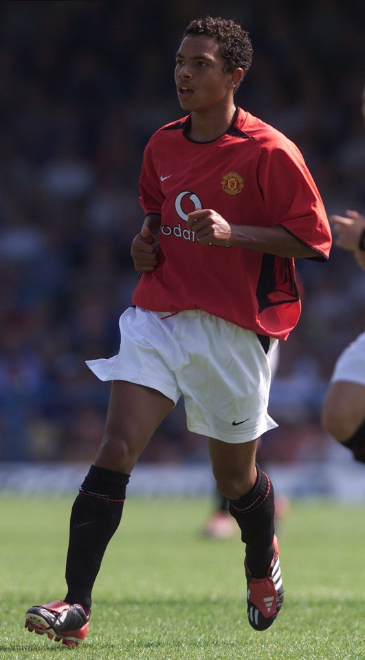 Kieran Richardson never really made it at Old Trafford, but did make eight England appearances