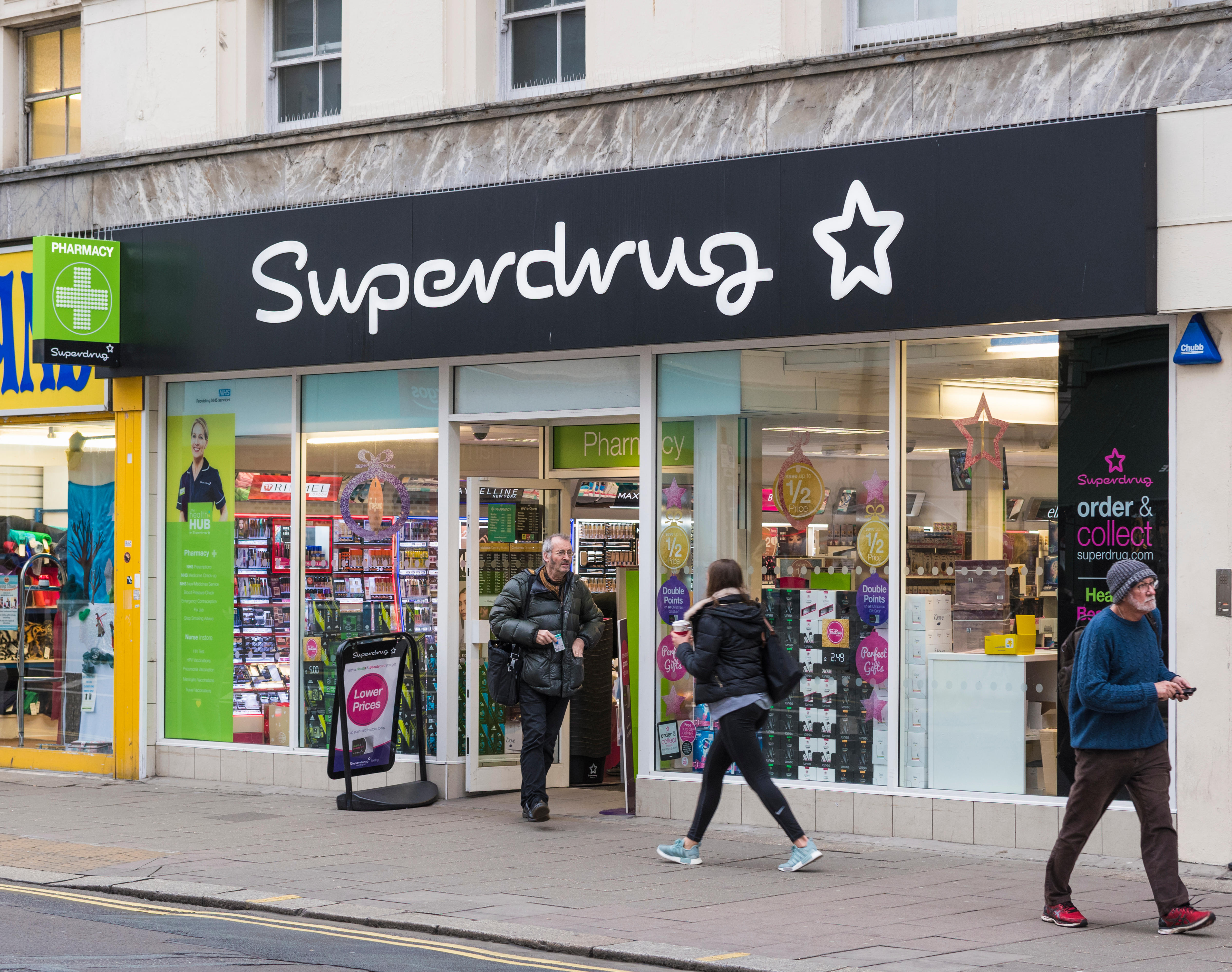 Superdrug customers will still be able to shop in stores during the coronavirus outbreak