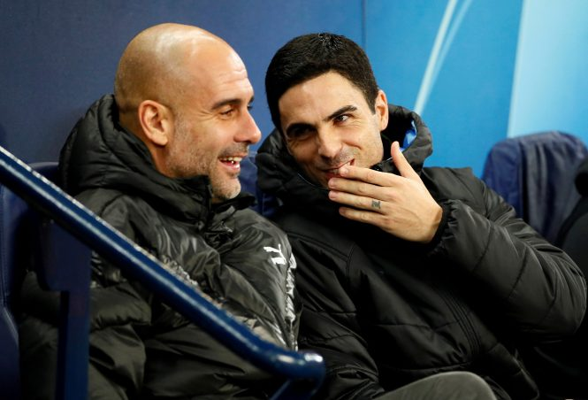 Arsenal chief Mikel Arteta learnt some of his trade under Pep Guardiola at Man City but will do things his own way