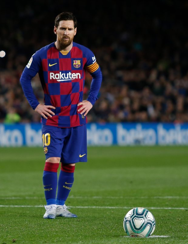 Lionel Messi is hoping to help his former team-mate get out of the jail