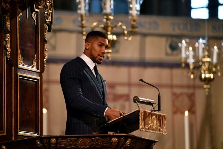 WATCH: Boxing World Champion Anthony Joshua Gives Moving Commonwealth Day Speech in Front of the Royal Family at Westminster Abbey About his Nigerian Heritage and Meghan Markle Congratulates him