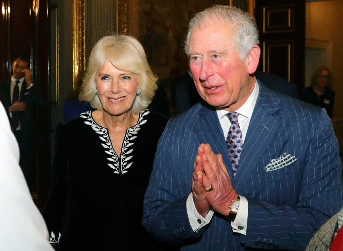 Prince Charles had avoided shaking hands during the pandemic