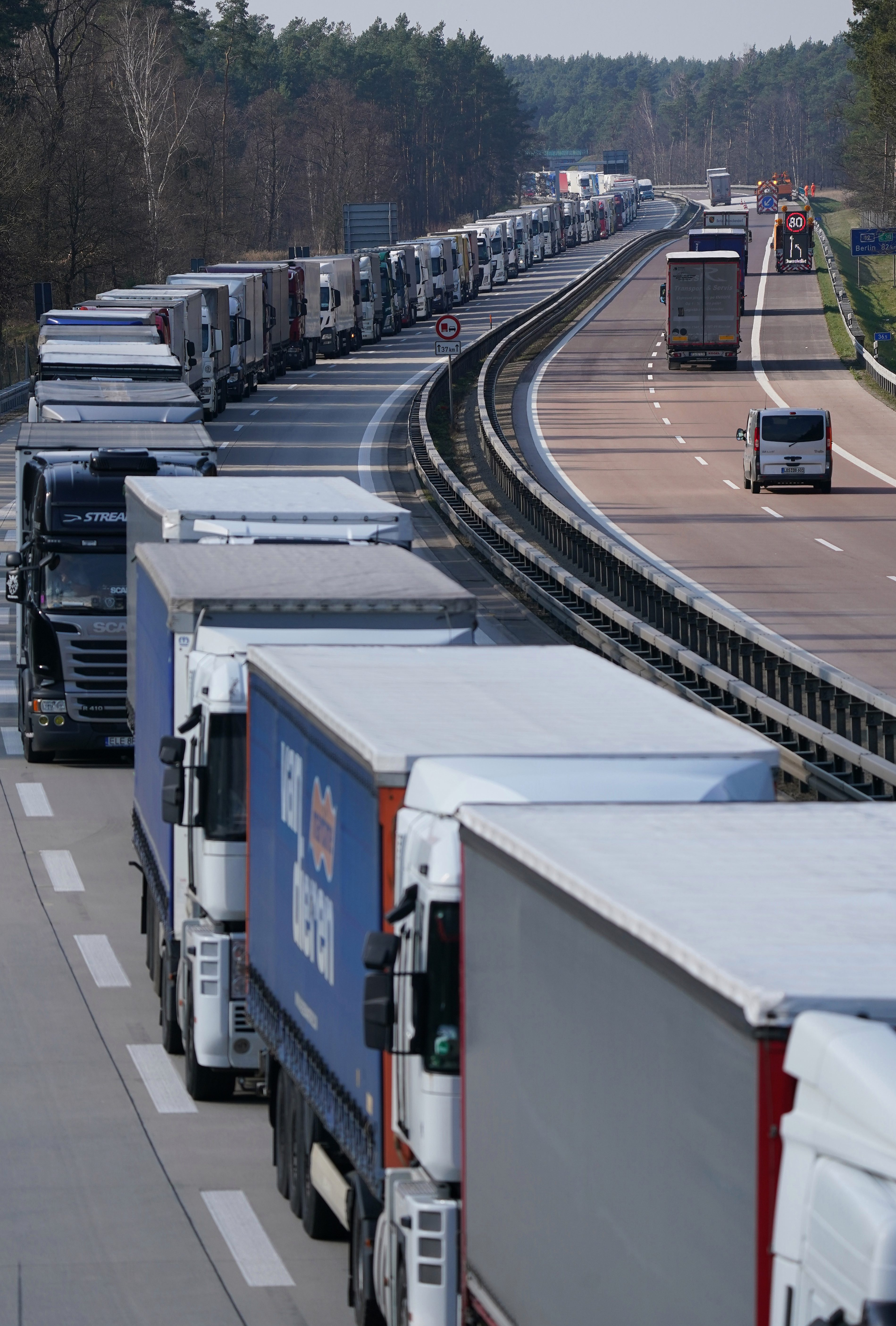 Coronavirus travel hell for Brits with 40 MILE queues as Europe ...