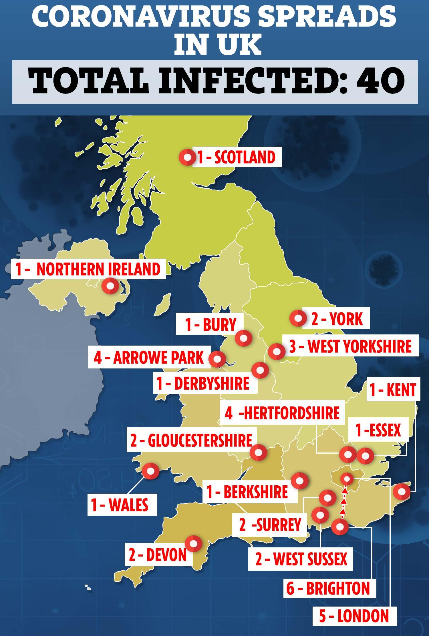 Coronavirus superspreader fears grip Surrey commuter town featured ...