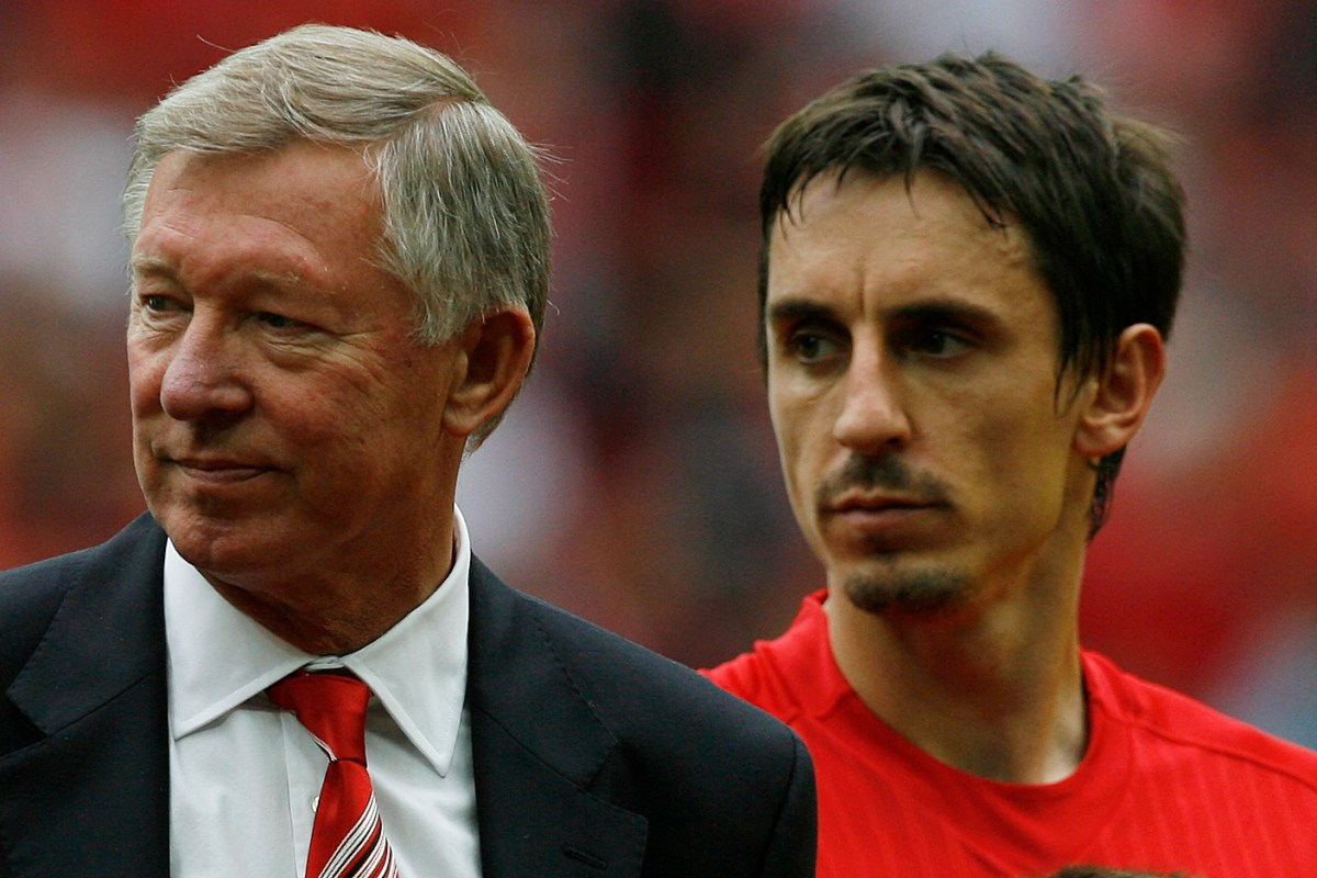 Neville say no club EVER inquired about signing him - and he would never have left anyway