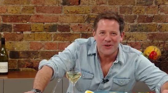Saturday Kitchen viewers were left cringing as host Matt Tebbutt admitted he was scared he'd run out of stuff to talk about on-air