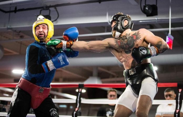 Conor McGregor and Paulie Malignaggi have been involved in a feud since an infamous workout in 2017