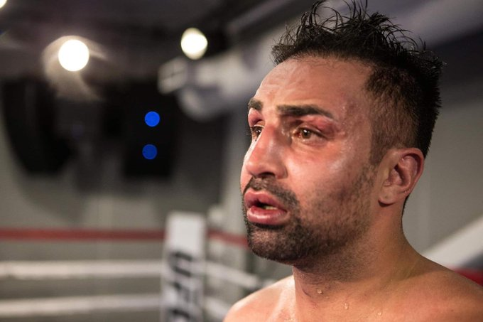 Malignaggi contends that he ended up on the web because of a push
