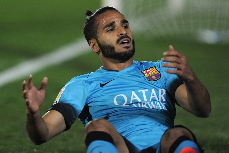Douglas was awful at right-back for Barca