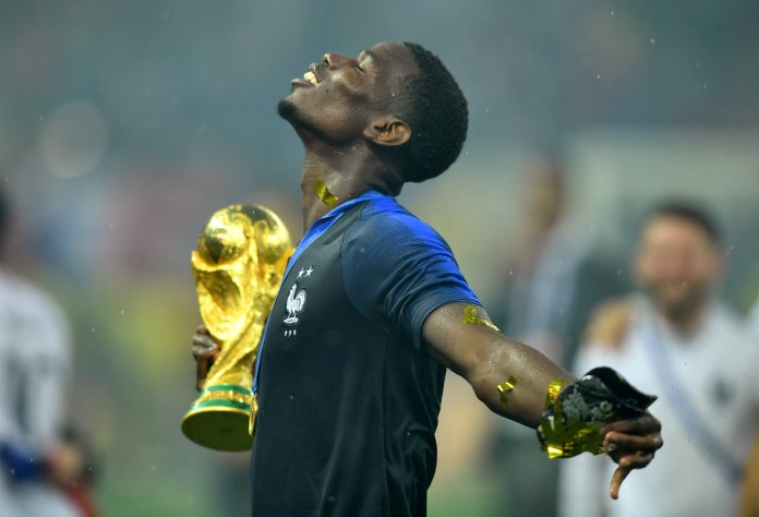 Pogba did not do too bad himself, winning the 2018 World Cup