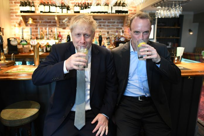 Dominic Raab paid tribute to his friend Boris, hailing him as a `` fighter ''