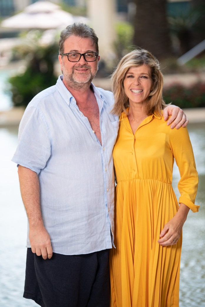 Kate Garraway revealed that her husband Derek is still