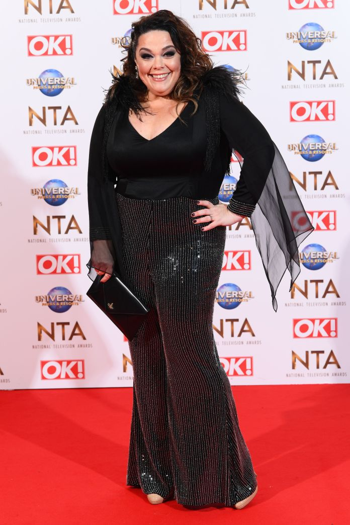 Actress Emmerdale, photographed in 2020, cut alcohol and junk food consumption and lost 12 stones