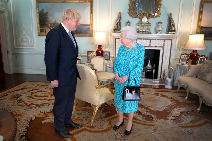 The Queen directed the wishes of the royal family to Boris as he fights the coronavirus