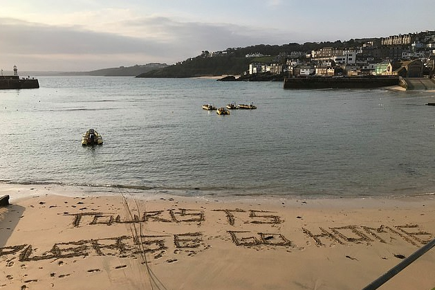 Tourists are warned that Devon and Cornwall are closed for Easter