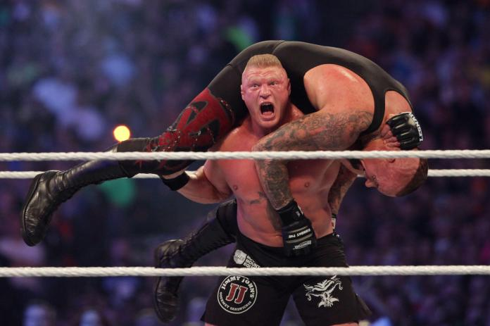 Fans prepare for Wrestlemania, which was filmed this year ahead of time
