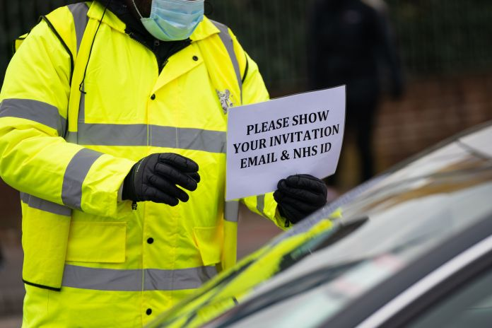 Priority NHS key workers were sent for testing first and asked to provide proof upon arrival
