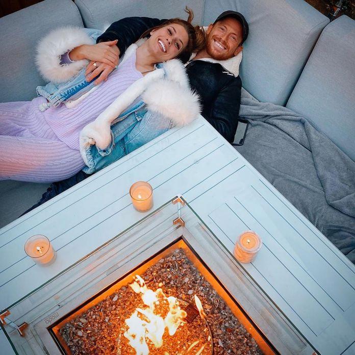 Stacey Solomon and Joe Swash had a romantic evening last night