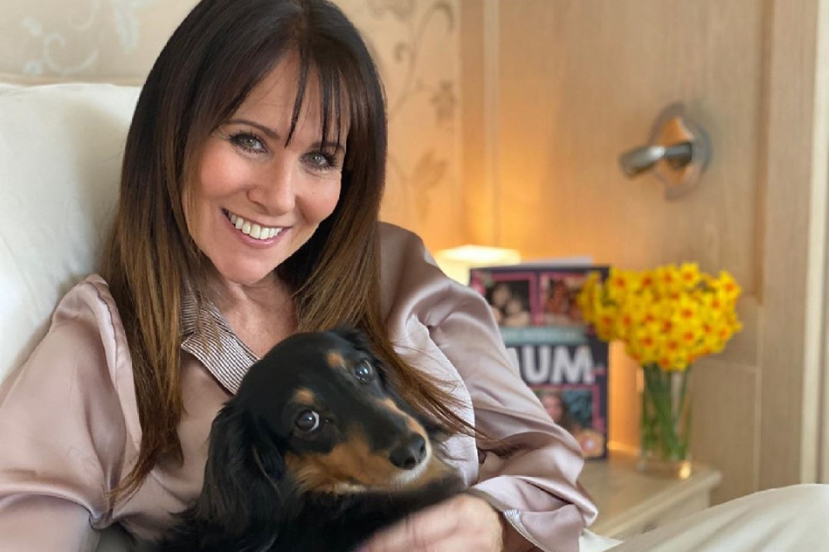 Linda Lusardi shares health tips with fans after beating coronavirus after nine days in hospital