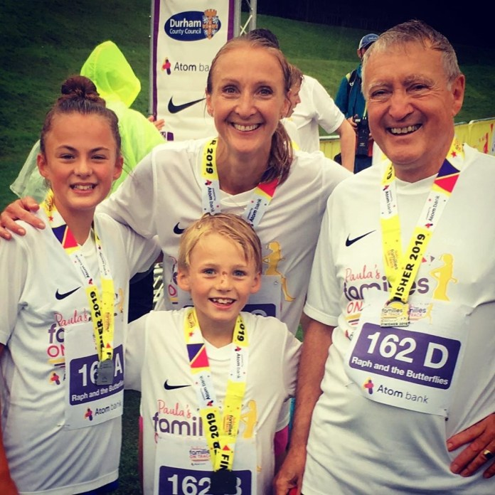 Paula Radcliffe unfortunately confirmed the death of her beloved father Peter