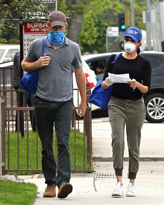 Harry and Meghan were seen this week delivering meals to residents in need during the coronavirus pandemic