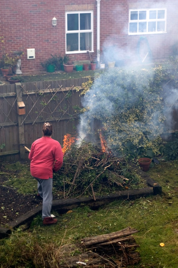 Officials urged the public not to keep bonfires during the lockout, as smoke can worsen breathing problems
