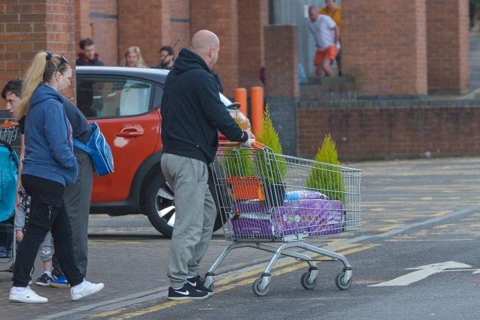 Leeds man bought garden supplies during coronavirus lockout