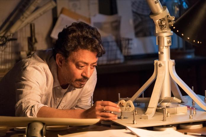 Irrfan Khan, pictured in the 2018 Puzzle movie, died of a colon infection