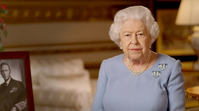 The Queen addressed the nation at 9 p.m. this evening
