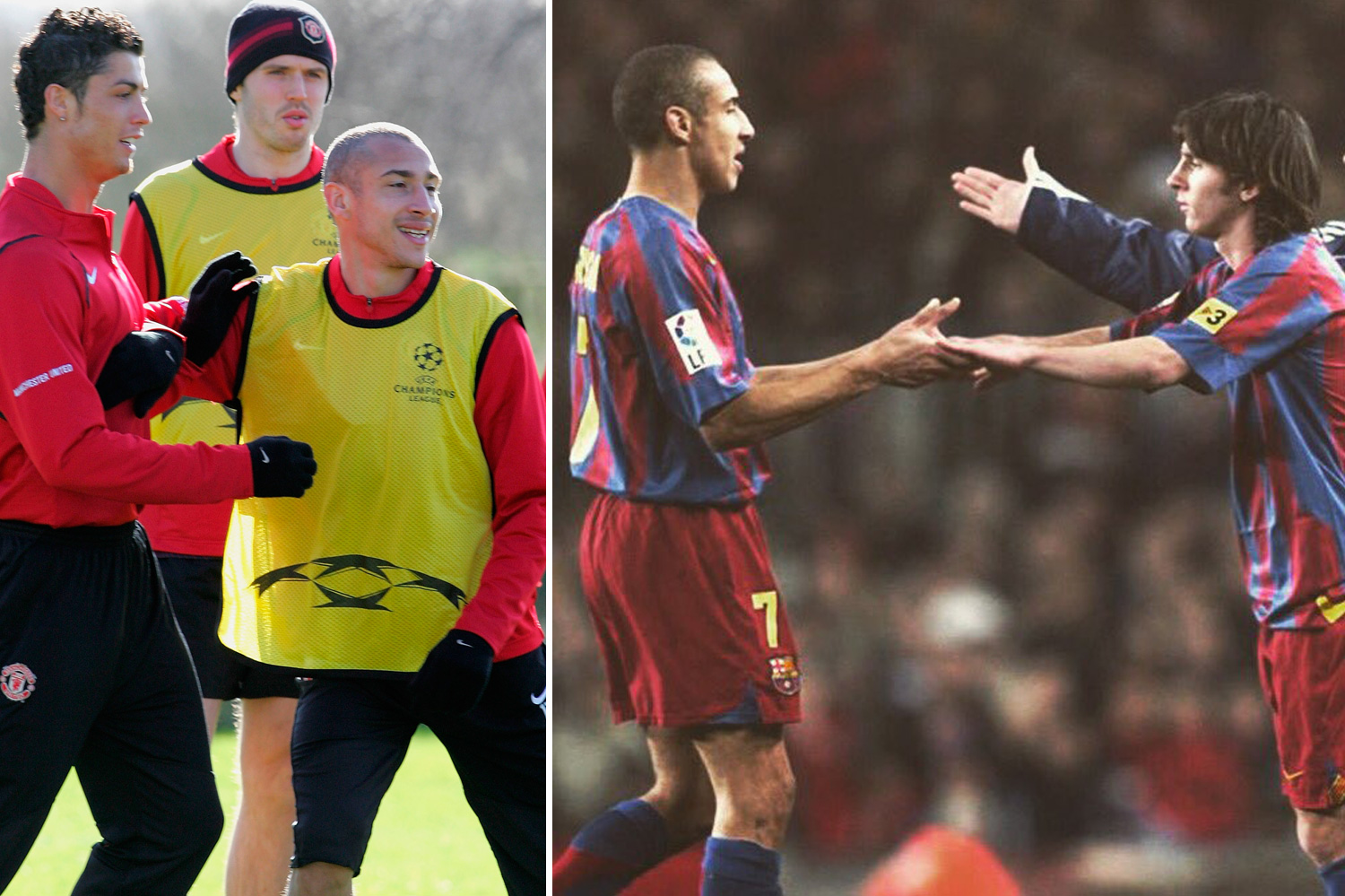 Larsson opted for Messi over Ronaldo thanks to their time at Barca