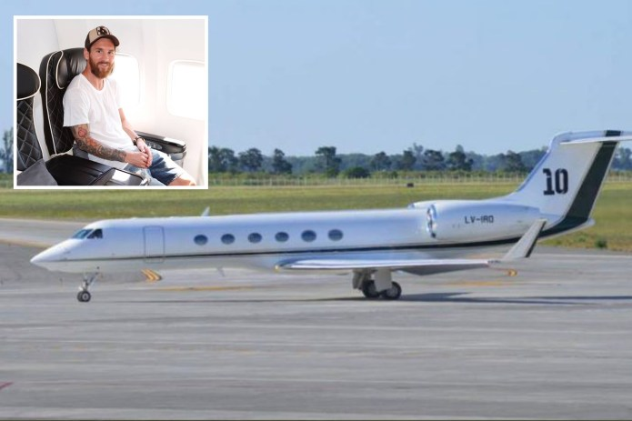 The private jet used by Lionel Messi was forced to make an emergency landing in Brussels on Friday morning