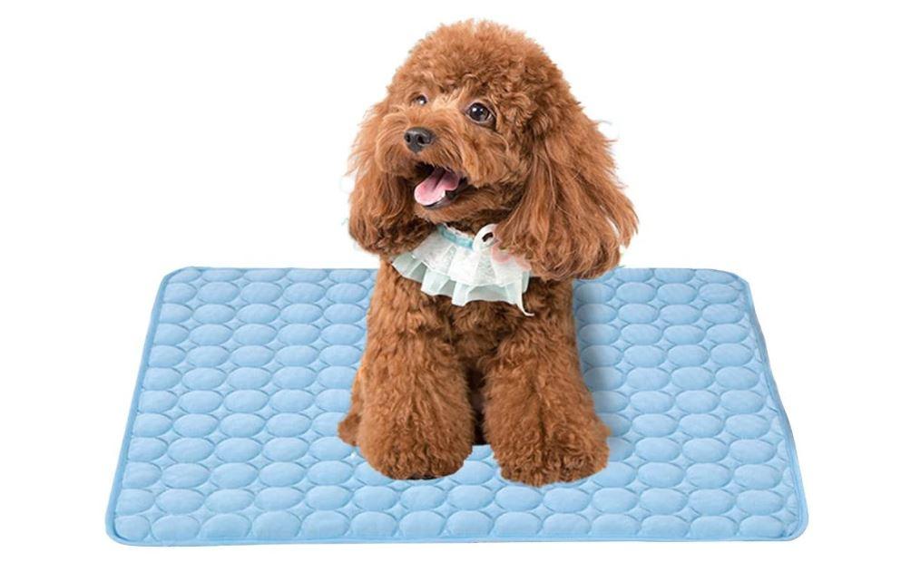 best pet cooling mats 2021 from gel