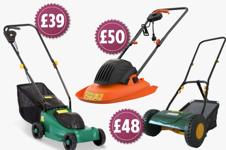 We've rounded up some of the cheapest lawn mowers on the market