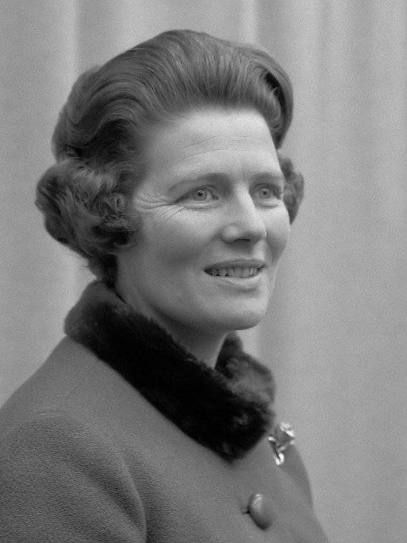 Mary Churchill was Winston Churchill's youngest daughter