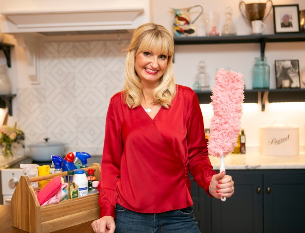 The Queen of Clean shows you how to tackle these tricky bits around the house