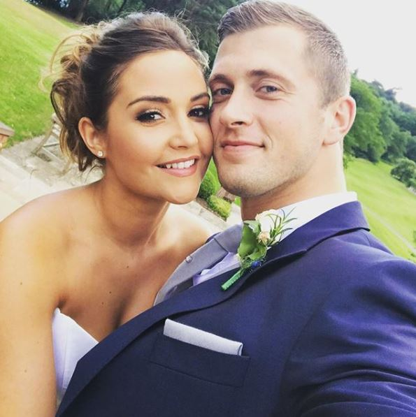 The couple married in the Cheshire aristocracy's house with guests including fellow Albert Square star, Adam Woodyatt, Dean Gaffney, and Jake Wood plus James Argent from Towie
