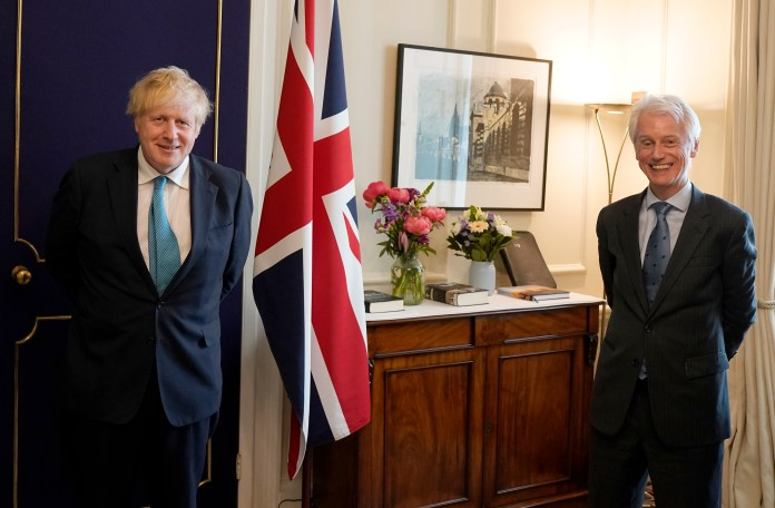 David Suning, the political editor of The Sun on Sunday, met Boris Johnson at No10 Downing Street