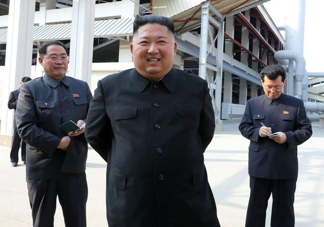 Pictures on North Korean media claim to show Kim Jong-un alive and well on May 1