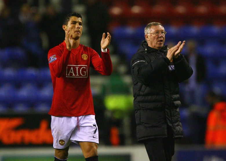 Sir Alex and Ronaldo have always been happy to praise one another
