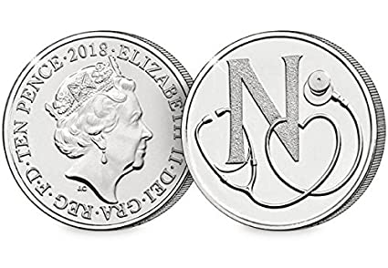 The NHS 10p coin was first launched in April 2018 but it's now soared in value